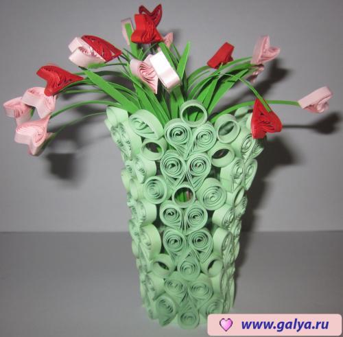 подборка приколов квиллинг букеты цветов с пошаговым фото сотрудничал